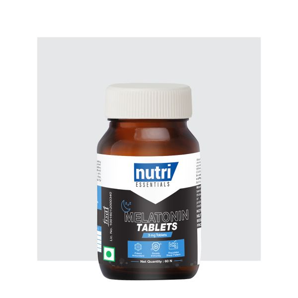 Melatonin Tablets (Use Code: MEL25 and get flat 25% off*)