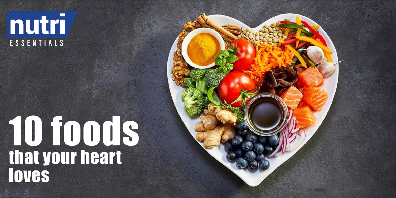 10 Foods That Your Heart Loves