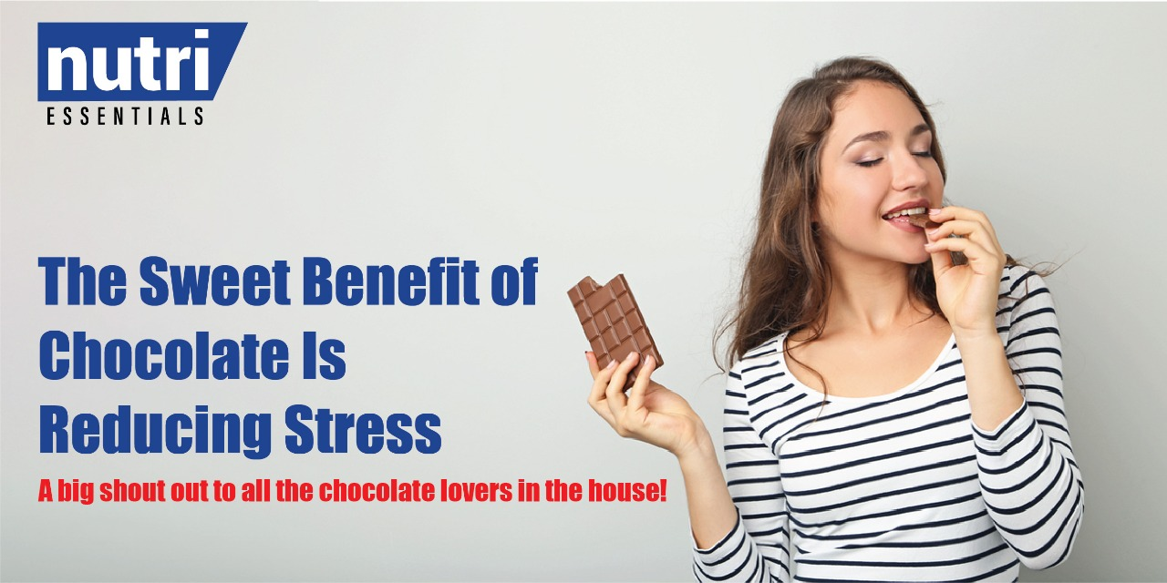 The Sweet Benefit of Chocolate Is Reducing Stress