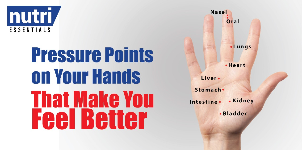 Pressure Points on Your Hands That Make You Feel Better