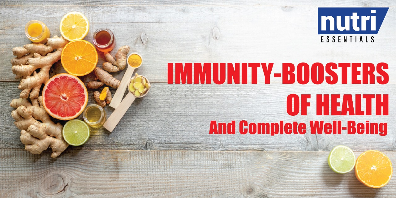 Immunity-Boosters of Health And Complete Well-Being